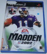 Madden NFL: 2002-Para Sony PlayStation 2
