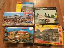 Set of Vollmer, LifeLike, Faller, and VauPe HO scale kits