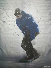 BURTON snowboards 2012 JUSSI OKSANEN 2 sided promo poster New Old Stock Mint Con