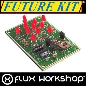 Future Kit 11 LED Blinkende Star DIY Kit Löten Zeichen Praxis Flux Workshop