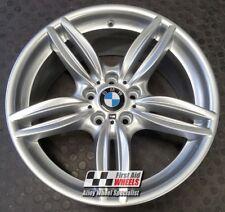 "BMW 5 6 SERIES 1X 19"" GENUINE STYLE 351M 8.5J ET33 SILVER ALLOY WHEEL S379SF"