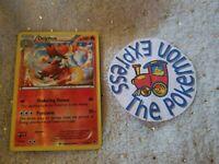 Pokémon TCG Delphox Fates Collide Reverse Holo Rare #13/124 Mint Fire English