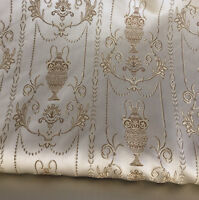"Upholstery and  Drapery,Jacquard Fabric, Color Dawn, sold By the Yard, 58"" wide"