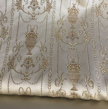 """Upholstery and  Drapery,Jacquard Fabric, Color Dawn, sold By the Yard, 58"""" wide"""
