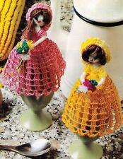 VINTAGE Belle Egg Covers/Decor/Crochet Pattern INSTRUCTIONS ONLY