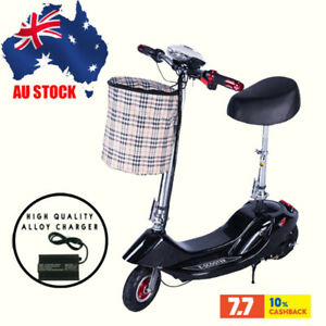 Black Best 2021 electric scooter pro with seat electric adult scooter folding AU