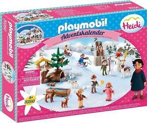 PLAYMOBIL 70260 Advent Calendar Heidi's Winter World from 4 Years