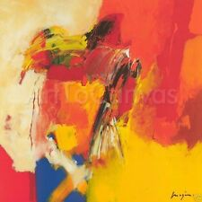 "39""x39"" ORANGE by MAGIS EXCLUSIVE EXCITING TRANSFER CANVAS"