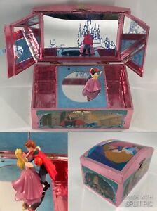 RARE Sleeping Beauty & Prince Magnetic Dancing Music Box, Vintage 1991
