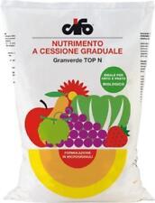 CONCIME GRANULARE PRATO AIUOLE ALBERI  GIARDINO GRANVERDE TOP N CIFO 5 KG BIO