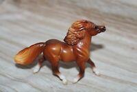 #97248 🐴Breyer Stablemates Horse, Darker Chestnut Shetland Pony