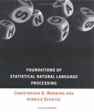 Foundations of Statistical Natural Language Processing Hardback  9780262133609