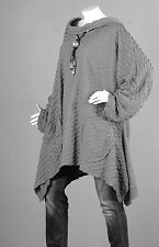Kaschierwunder Pullover Tunika Longpullover Top Bluse Cardigan Shirt Wolle XL 1
