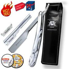 Barber Shaving Straight Razor Cut Throat Razors Slide In Shaver Rasoirs 10 Blade