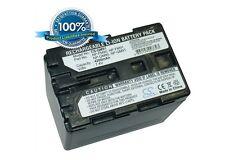 7.4 V Batteria per SONY DCR-PC100, HVR-A1J, DCR-PC110, DCR-PC120BT, DCR-TRV39, CCD