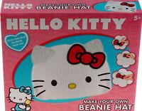 Hello Kitty Make Your Own Beanie Hat Craft Kit