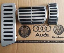 VW Bus T5 original Pedalset Pedals Footrest pedal pads caps Multivan GP T6