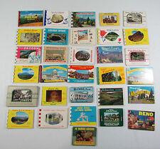 Lot of 31 Vintage Postcard Souvenir Photo Packs National Parks Capital Caverns