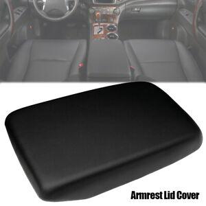 For Toyota Kluger Armrest Lid 2007 -2013 Model Pu Leather Black Centre Console