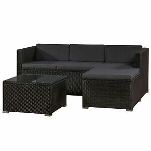Gartenmöbel Polyrattan Lounge Rattan Gartenset Sitzgruppe Rattanmöbel Juskys®