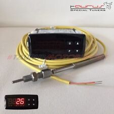 Strumento manometro EGT temperatura gas di scarico sonda k Road Italia digitale