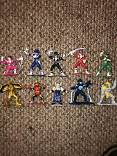 Mighty Morphin Power Rangers 3 Inch Minifigs Lot of 10