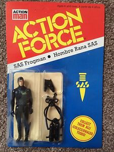 Action Force SAS Frogman  MOC MOSC Carded Palitoy SPANISH PBP Ultra RARE