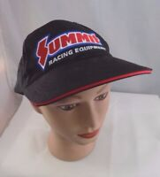 SUMMIT RACING EQUIPMENT STITCHED ADJUSTABLE BASEBALL HAT CAP PRE-OWNED ST50