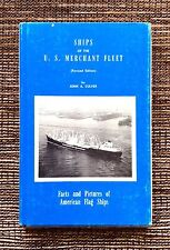 VERY RARE VINTAGE 1965 Ships of the U. S. Merchant Fleet: Flag Ships John Culver