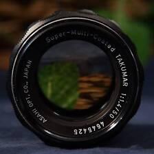 Nice. ASAHI Opt  Co. Pentax Super-Multi-Coated Takumar 50mm f1.4 M42 Mount Lens