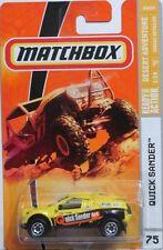 Matchbox MBX 2009 #75 Desert Adventure Quick Sander Yellow