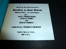 Boieldieu La Dame Blanche, Spoorenberg, Gedda Rare 2 LP