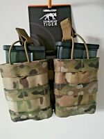 ARMY MOLLE AMMO MAG POUCH TACTICAL AND  HK417D  Smoked 20rds 6mm BB's KIT