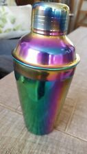 Brand New Iridescent Metal Cocktail Shaker