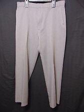Vintage 90s Levi's Action Slacks Men's Pants Size 37 x I 30 Gray Dacron No Iron