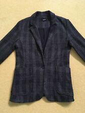 Me & Em Charcoal Grey Checked Blazer. 10. Brand New.