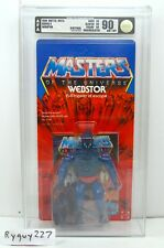 MOTU, Webstor, AFA 90, graded, Masters of the Universe, MOC, He Man, sealed