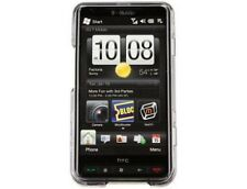 Two Piece Plastic Protector Phone Cover Transparent Smoke For T-Mobile HTC HD2