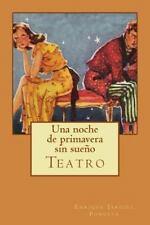 Una Noche de Primavera Sin Sueño by Enrique Jardiel Poncela (2014, Paperback)