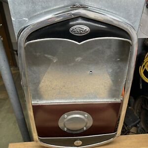 1931 Model A Ford Radiator Shell Excellent Used OEM Just Removed