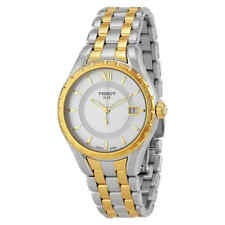 Tissot T-Lady Silver Dial Two-tone Ladies Watch Watch T0722102203800