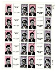 Cameroun- John F. Kennedy - First Man on the Moon ovpt - FULL SHEET of 20 stamps