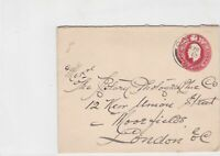 great britain 1904 to london stamps cover ref 21389