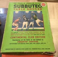 SUBBUTEO TABLE SOCCER - CONTINENTAL CLUB EDITION 1970 INCOMPLETO - CVAP01/19