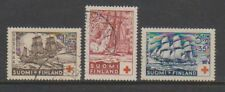 Finland - 1937, Red Cross set - F/U - SG 312/14