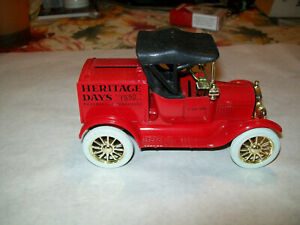 """Ertl #2108UP 1:25 """"Rogersville, TN Heritage Days #1"""" 1918 Ford Runabout Car Bank"""