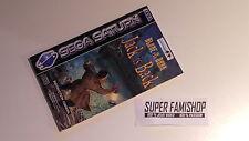 La Notice pour le jeu Alone in the dark / pour Console Sega Saturn