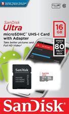 Sandisk 16gb Micro SD Card for HTC Desire, HD mini, HD2