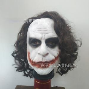 The Dark Knight Joker latex mask Halloween headgear cosplay props