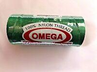 Hilo Omega #2 100% Nylon-100% Nylon Thread 275meters-300yards-*NEW COLORS